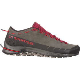 La Sportiva TX2 Leather - Chaussures Femme - gris/rouge